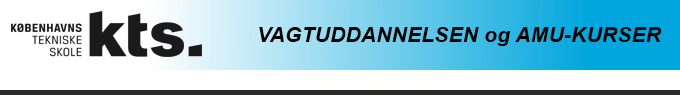 Link til København Tekniske Skole - Vagtuddannelser og kurser