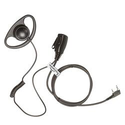 D- Shape Headset m. PTT/mike