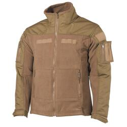 Fleece Jakke - Coyote Tan
