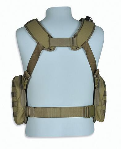 Tasmanian Tiger Chest Rig - Khaki