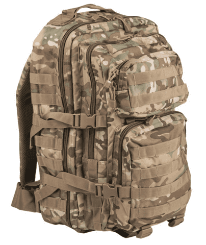 MilTec US Assult Backpack, Large - Multicam