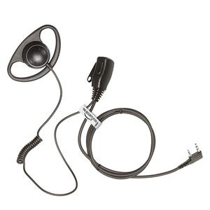 D- Shape Headset m. PTT/mike - Til TYT og Kenwood radioer