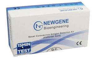 Newgene | Covid-19 Saliva Quicktest Antigen | CE Approved